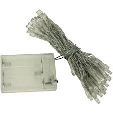 Battery Operated Light Strings by Aleko B50led Led Battery Operated Christmas String Lights 50