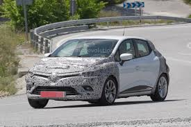 renault clio interior 2017 spyshots 2017 renault clio facelift is inspired by the new megane