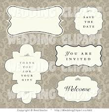 Digital Save The Date Vector Marriage Clipart Of A Wedding Digital Collage Of Save The