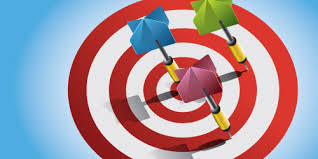 Seeking Bullseye Illustrator Tutorial Vector Darts On Bullseye Illustrator