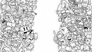 100 samus super smash bros coloring pages kids coloring