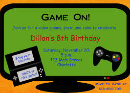 video game party invitation template free google search party