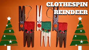 craft clothespin reindeer clothespin crafts