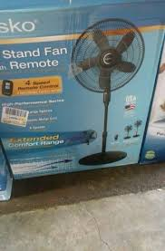 18 4 speed stand fan with remote control model s18601 upc 046013454911 lasko 18 stand fan with remote control black