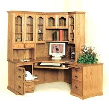 Oak Computer Desk With Hutch Solid Oak Computer Desk With Hutch Outstanding 53 For Your House