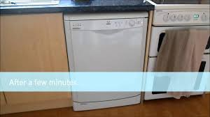 indesit idl 500 dishwasher youtube