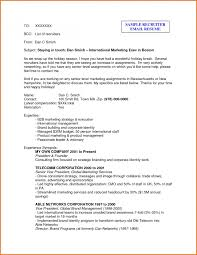 How To Send Resume For Job In Email by Sample Email To Send Resume Resume Template Free