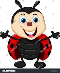 cute ladybug cartoon stock vector 157367252 shutterstock