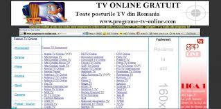 tv online romanesti 7 site uri unde găsești posturi tv online