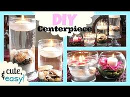 candle centerpiece diy floating candle centerpiece for your quince wedding party