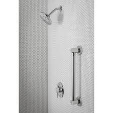 moen yg0418bn align brushed nickel grab bars bathroom accessories
