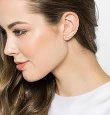 pierced ears without earrings 14 ear cuffs to add to your jewelry box asap via brit co