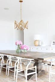 Dining Table Lighting by Best 25 White Dining Chairs Ideas On Pinterest White Dining