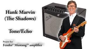 fender mustang 2 presets how to get hank marvin the shadows sound tone echo delay fender