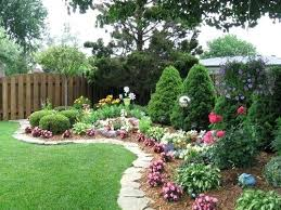 Ideas For Backyard Gardens Backyard Flower Bed Design Large Size Of Garden Plants Ideas