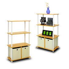 White Horizontal Bookcase by Altra Furniture Mia Kids 4 Shelf Bookcase In White 9627196 The