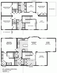 cool two storey residential house floor plan pictures best image