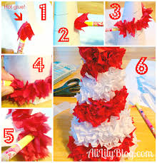 christmas tissue paper crafts ye craft ideas