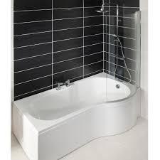 offset corner bath shower screen shower enclosures doors bath good shower baths curved shower bath mm inc screen and acrylic panel shape square shower bath with offset corner bath shower screen