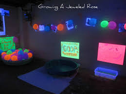 Party Room For Kids by Black Light Themed Party For Kids Growing A Jeweled Rose