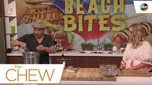 the chew com recipes thanksgiving michael symon u0027s clam bake recipe the chew youtube