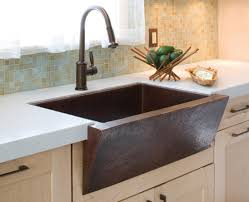 kitchen faucets for farmhouse sinks astonishing hammered copper kitchen faucet 2 most 33 raina