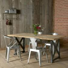 Dining Room Chair Seat Covers Graham Industrial Reclaimed Wood Dining Table Chair Seat Covers