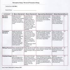 persuasive essay sample pdf personal persuasive paper english 1001 elkins personal persuasive rubric