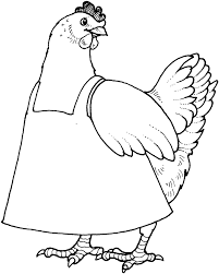 little red hen coloring page eliolera com