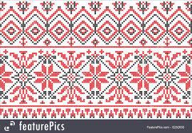 ukrainian ornaments ukrainian ornament cross stitch on a white illustration