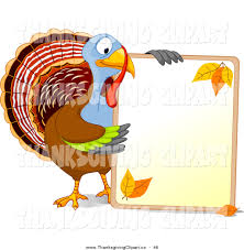 turkey holding sign clipart free clipartxtras