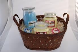 candle gift baskets soy wax candle large gift basket with tart melts