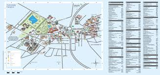 Az City Map Campus Map With A Z Index Maps And Travel Advice Visitors