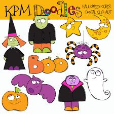 happy halloween text png kpm doodles halloween cuties