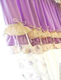 buy curtains lilac in the nursery for girls with tie backs shabby