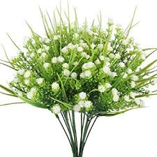 artificial flowers artificial flowers houda 4pcs faux baby s breath grass