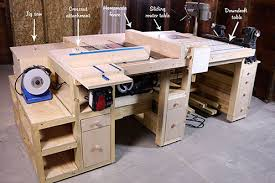 table saw workbench plans ts workstation