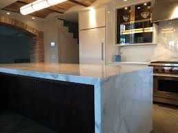 calacatta classic marble island absolute kitchen u0026 granite