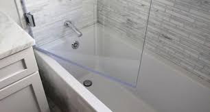 Bathtub Panel by Bath Shower Glass Panels Mobroi Com