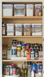 easy organized baking and spice cabinet kelley nan
