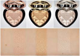 love light prismatic highlighter too faced love light prismatic highlighter ray or light you light