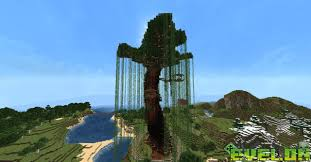my tree base on server minecraft