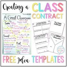 best 25 classroom contract ideas on student