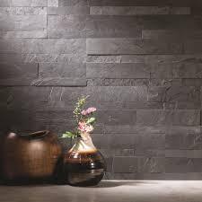 stick on tile backsplash aspect 5 9 x 23 6 inch charcoal slate peel and stick stone