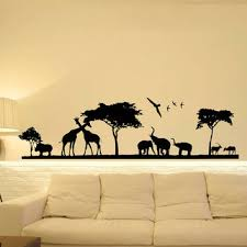 Safari Nursery Wall Decals Safari Wall Decal Jungle Wall Decal From Fabwalldecals On Etsy