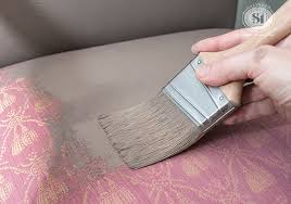 Remove Wax From Fabric Upholstery Painting Fabric With Chalk Style Paints Granny Chair Makeover