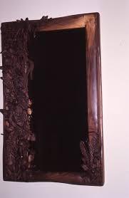 hand carved wooden mirror frame album on imgur