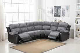 Corner Sofas With Recliners Corner Black Sofa Nurani Org