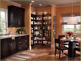 Kitchen Nuance Corner Doorless Stand Alone Cabinets Pantries Faced Off White
