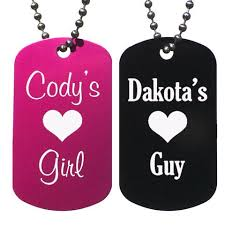 Engraved Dog Tag Necklace Personalized Dog Tag Necklaces U2013 Love Chirp Gifts